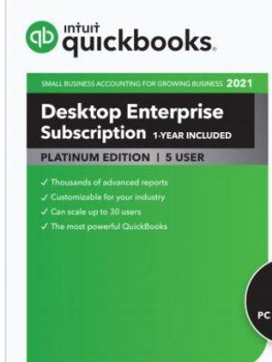 QuickBooks Enterp Platinum 21